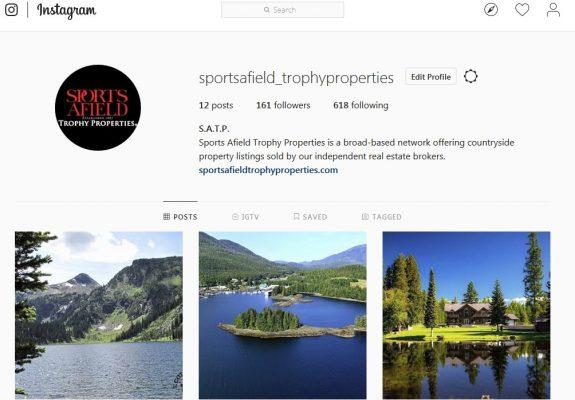Sports Afield Trophy Properties on Instagram!