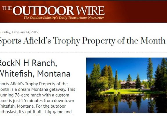 Trophy Property of the Month on The Outdoor Wire