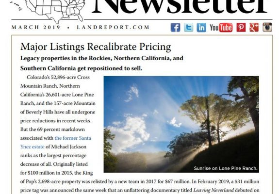 Land Report March 2019 Newsletter