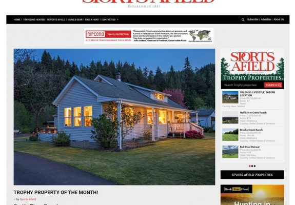 SportsAfield.com Trophy Property of the Month!
