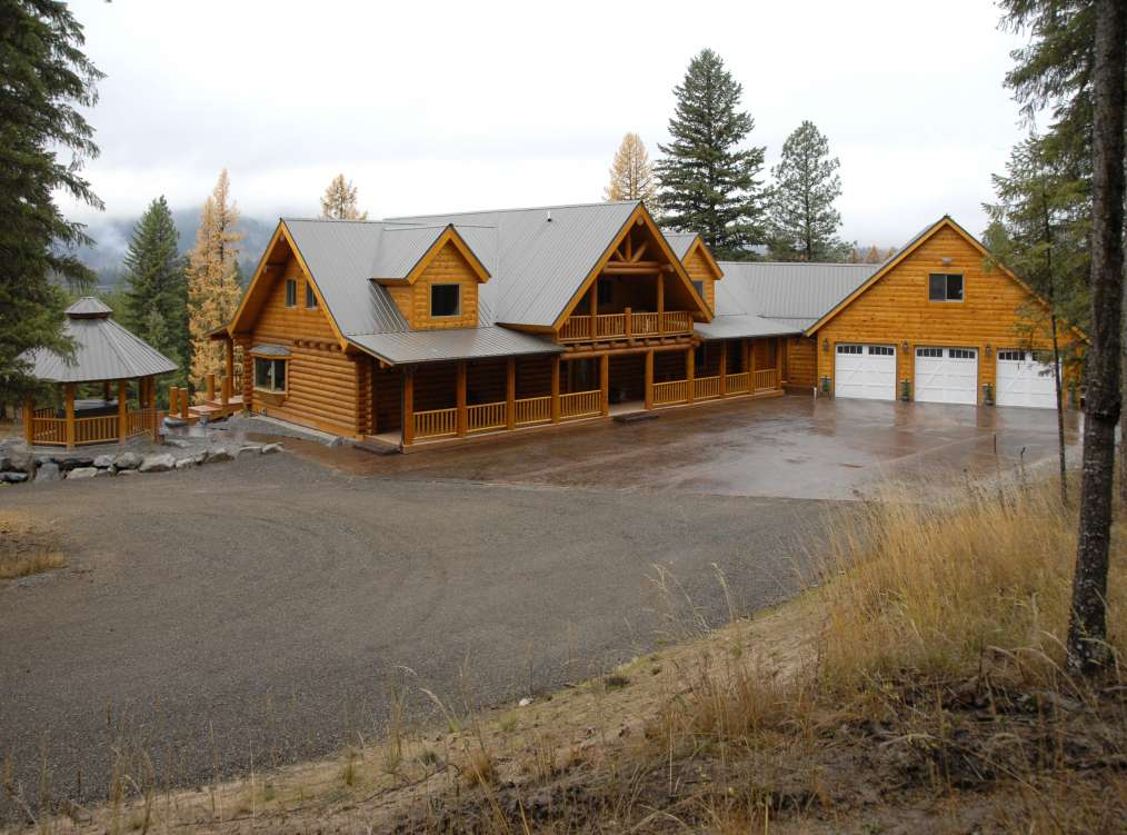 Cougar Ridge Log Home Retreat