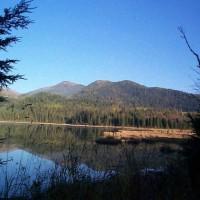 Canoeing Chase Lake Property Photograph