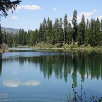 Metcalf Lake - The Ultimate Private Fishery Property Photograph