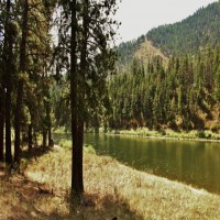 Clark Fork River Front Land Western Montana Property Photograph