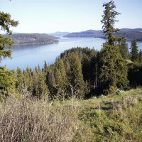 Beautiful Lake Coeur d'Alene acreage Property Photograph