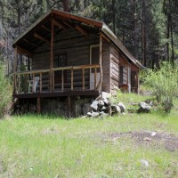 Rustic Cabin Surrounded by BLM Property Photograph