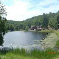 Pennsylvania Lakeside Paradise Property Photograph
