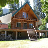 Kootenai Riverfront Home