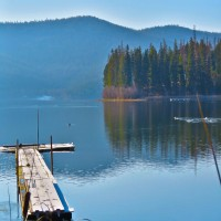 Lake Mary Ronan Waterfront Property Photograph