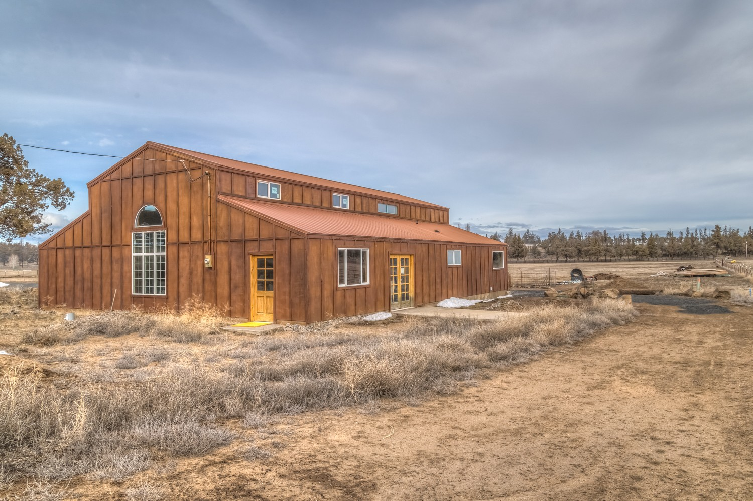 Central Oregon Big Sky Country Property Photograph