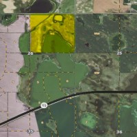 90 Acres Farm Ground / Devils Lake Frontage Property Photograph