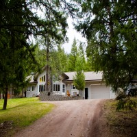 Blackfoot River Private Retreat Property Photograph