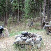 Secluded Cabin engulfed in meadows Property Photograph