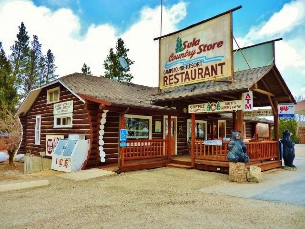 Sula Store, Cabins, RV Park, Western Montana  Property Photograph