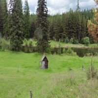 160' Yaak River Frontage Property Photograph
