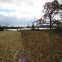 St Mary's Lake Lot Property Photograph