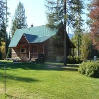 Western Montana Swan Valley Elk Flats Road Property Photograph