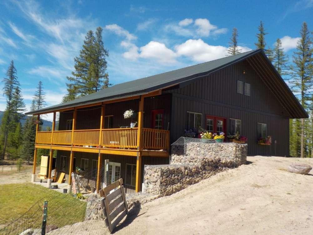 Western Montana Farmstead Property Photograph