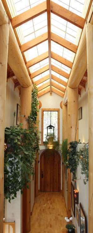Gorgeous, One of a Kind Custom Log Home Property Photograph