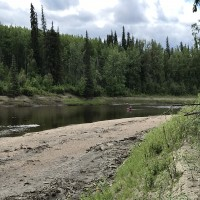 RIVERFRONT 9 +/- km. Including 1700 acres of land