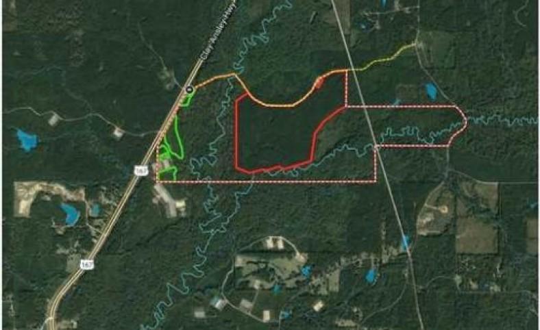 Cypress Bayou Tract, Jackson Parish, 670 Acres +/-