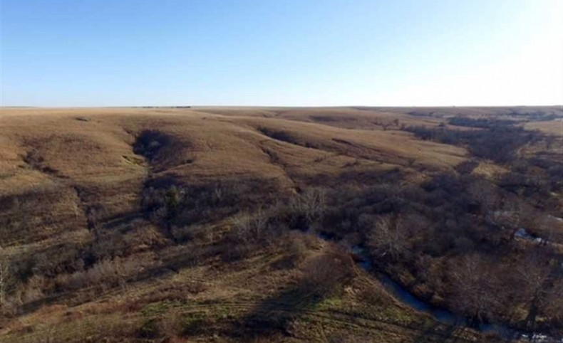 PRICE REDUCED! Pasture and Hunting Land For Sale in Greenwood County, Kansas.