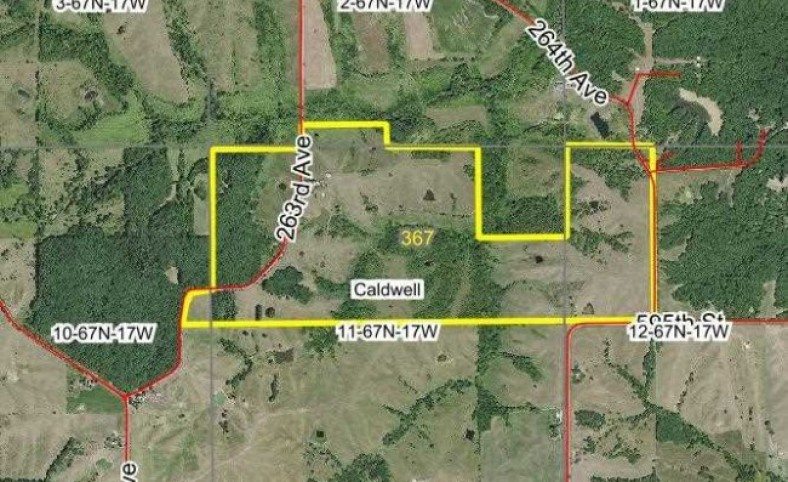 367 Acres m/l, Land for sale in Appanoose County, IA