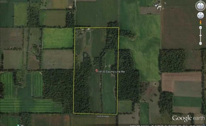 1151 E. County Line Rd 80.31 Acres