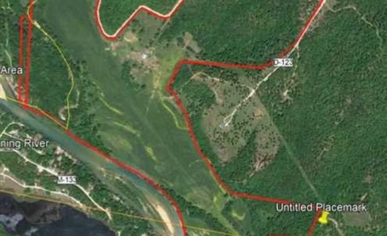 200 Acres +/- Farmland, Current River Frontage, For Sale in Van Buren, Missouri, Carter County