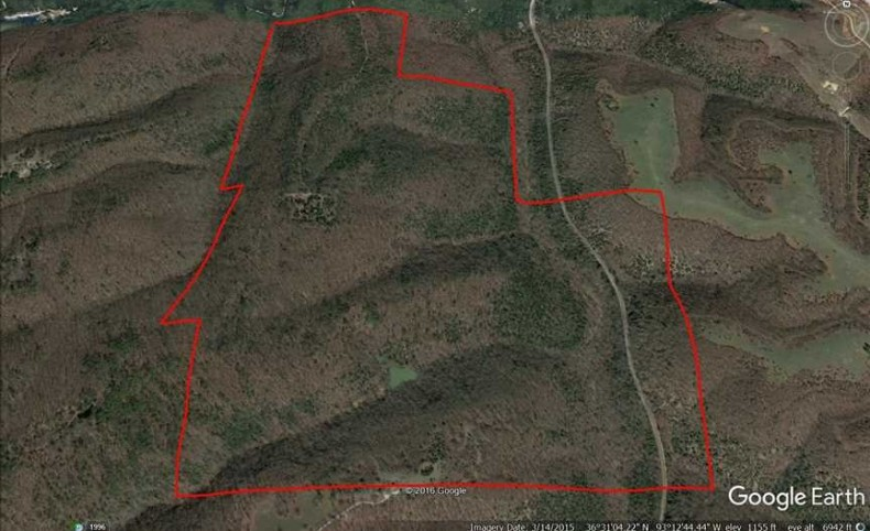348 Acres in Taney County, Missouri