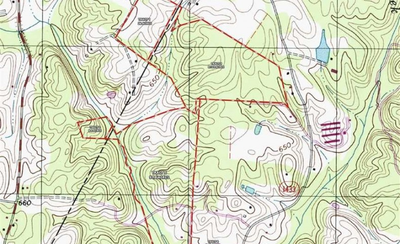 216+/- Acres in Gold Hill, Cabarrus County