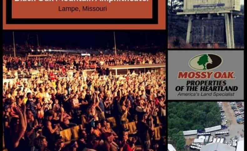 Black Oak Mountain Amphitheater in Lampe, Missouri