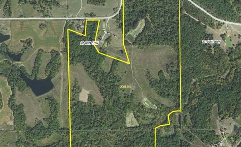 230 acres Phenomenal Deer Hunting Land for Sale in Van Buren County, Iowa
