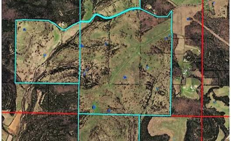 800 Acres Located in Ozark County