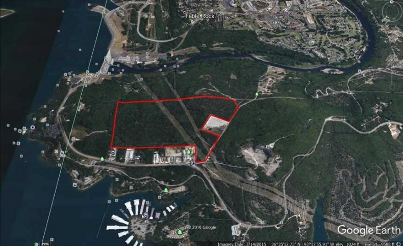 164 Acre Tract Near the Dam on Table Rock Lake