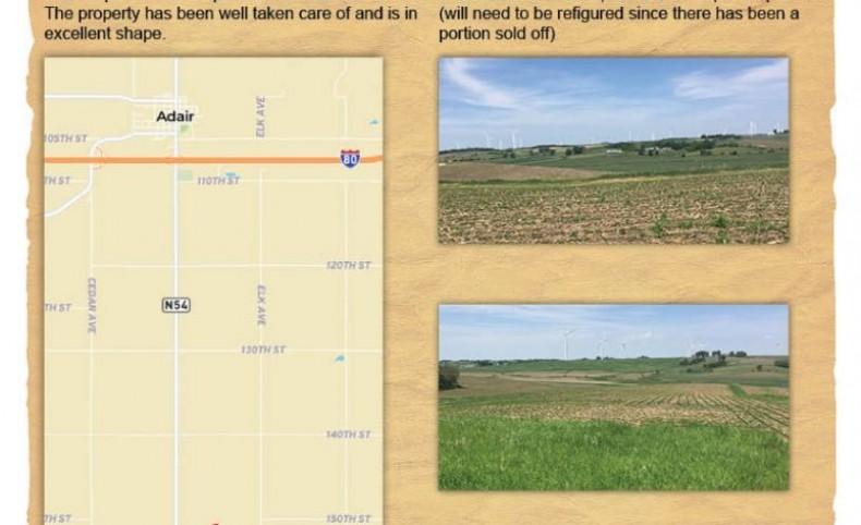 Quality Farmland in Great Location!