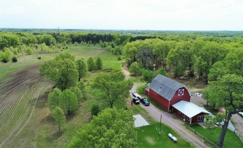 204-Acre Premier Hunting & Recreation Property For Sale in Lyndon Station, WI
