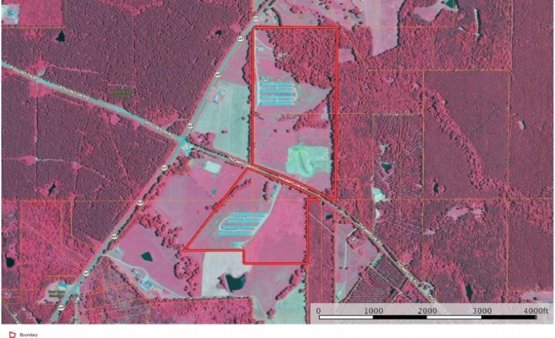 12 House Broiler Farm for Sale 114 Acres SW MS, Smithdale MS