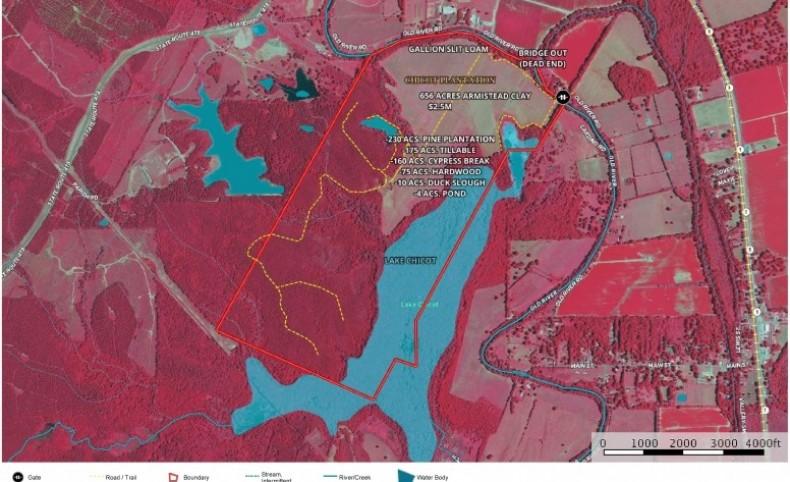 656 Acre Recreational Oasis, Natchez, Natchitoches Parish LA