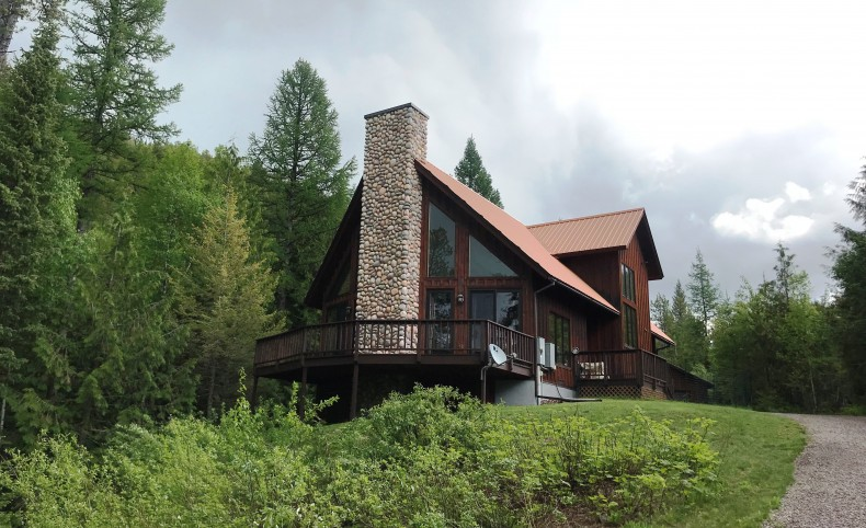 Forested Home on the North Fork