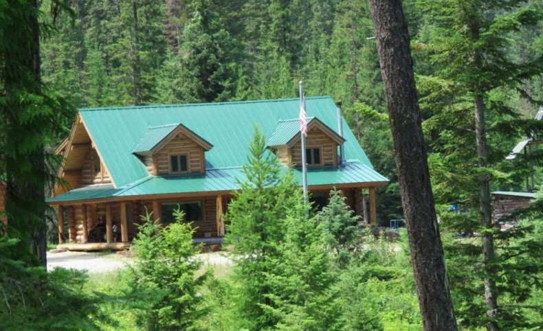 5 Mile Log Home