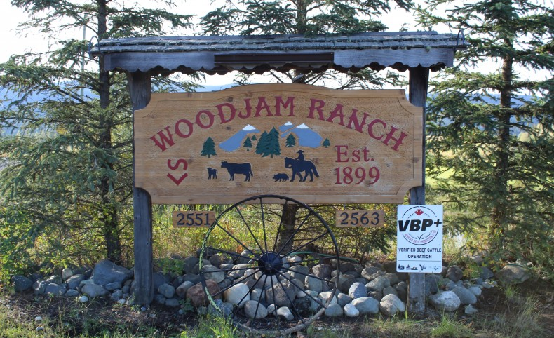 The Historical Woodjam Ranch on the Horsefly River