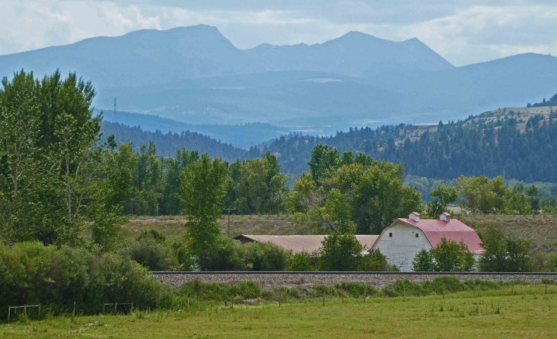 The 45 Ranch in Western Montana