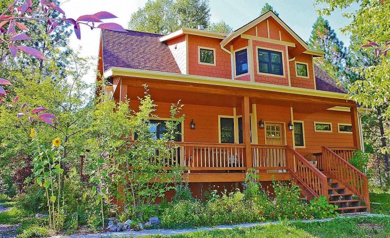 Missoula MT  Home Next to 1000+ Ac. River Corridor