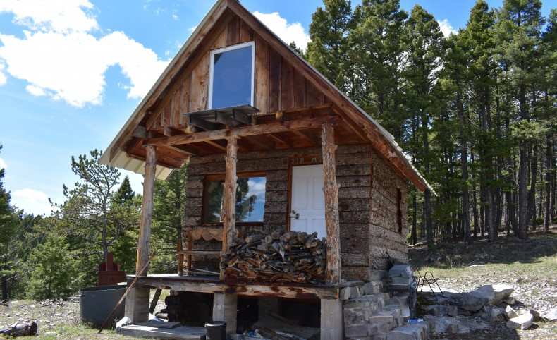 Tiny Cabin With Acreage and View