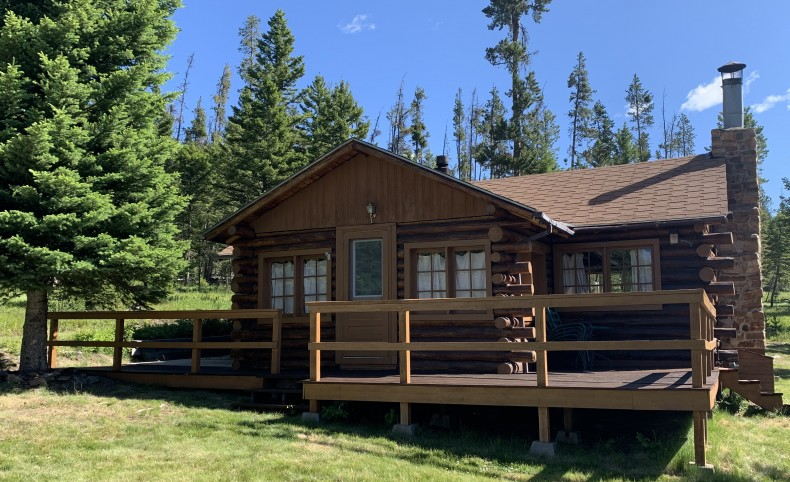 National Forest Off-Grid Cabin