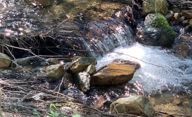 Gillette Creek Runs Through