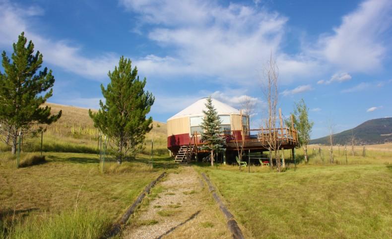 Homestead Yurt